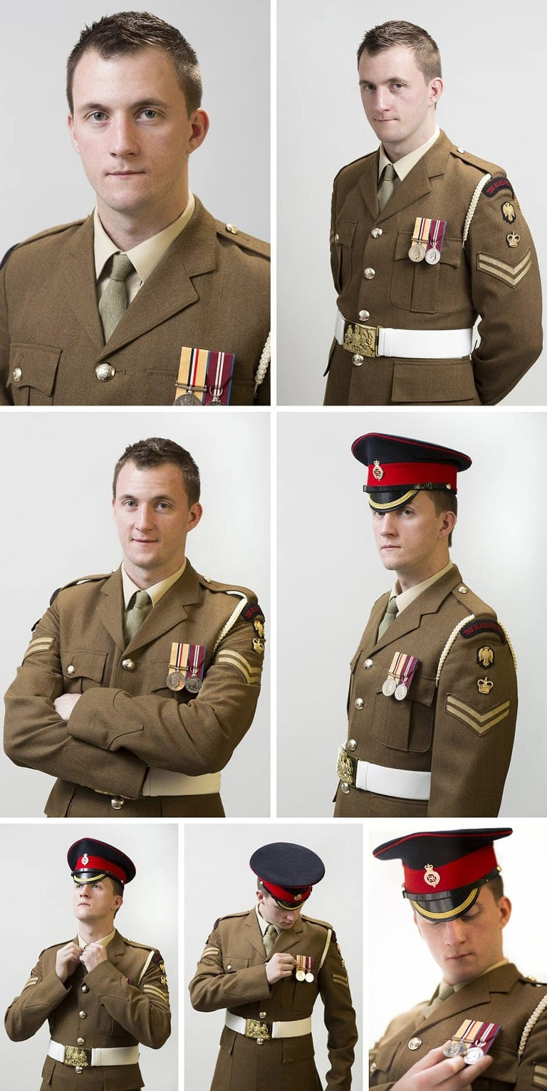 James Wharton Out In The Army My Life As A Gay Soldier Official Portrait Shoot Murray Clarke Surrey Photographer Tych