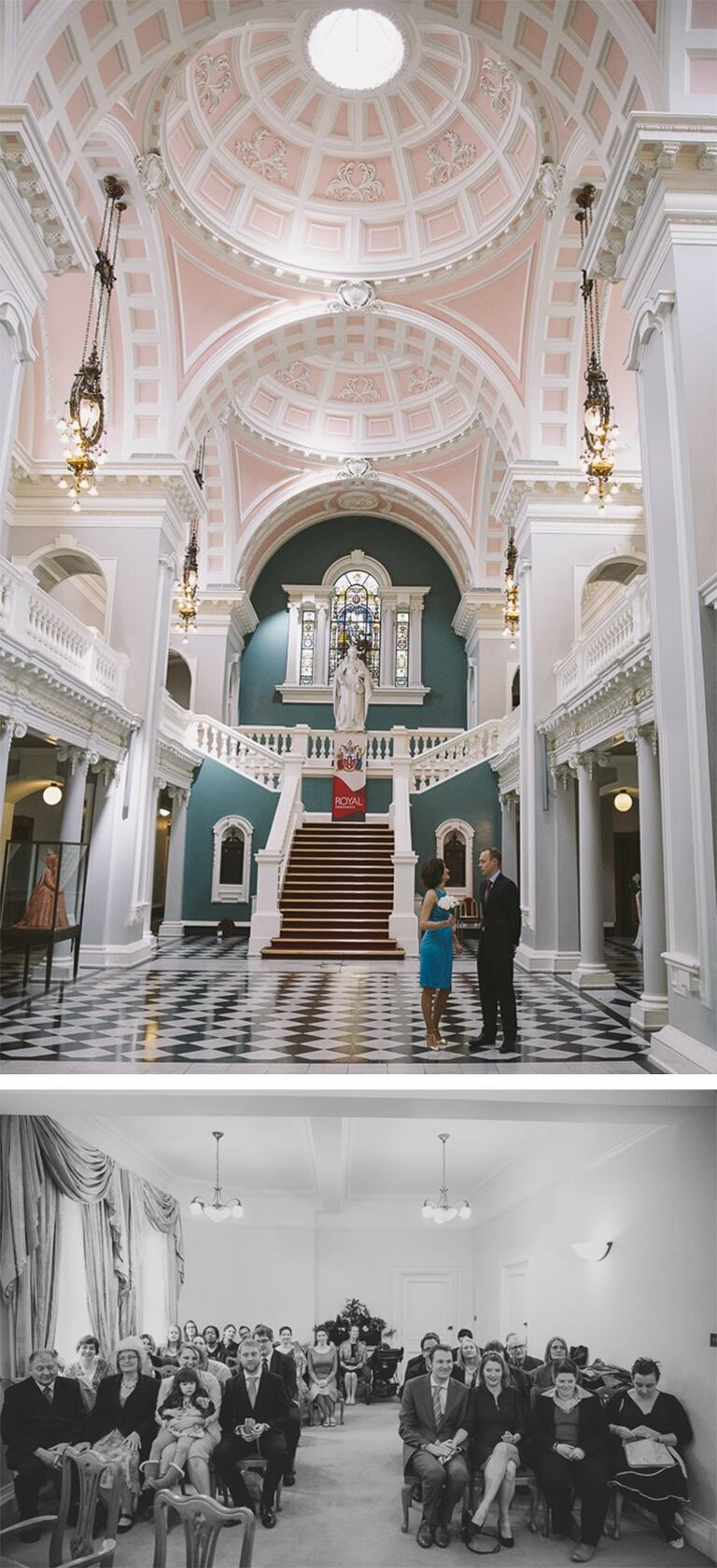 Woolwich Town Hall interior period features.