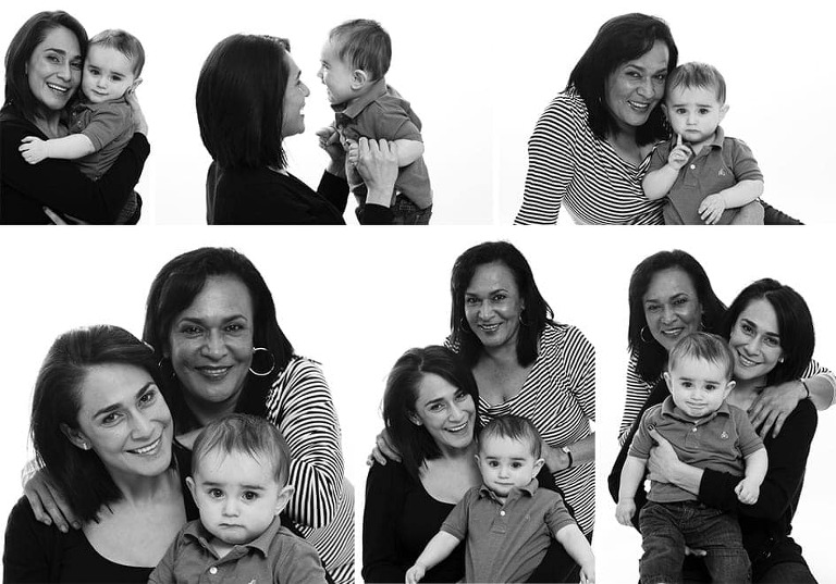 Sussex family studio photography in Worthing.