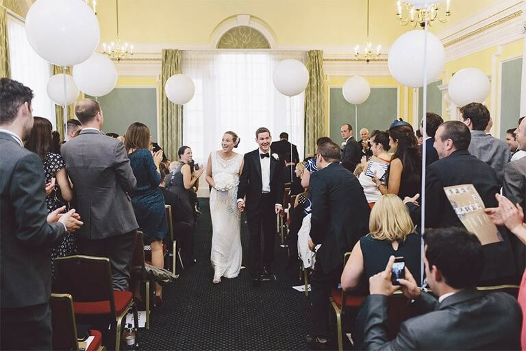 Wedding-Photography-Chelsea-Town-Hall-London-Recessional