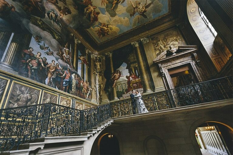 Wedding-Photography-Hampton-Court-Palace-Surrey-Kings-Steps