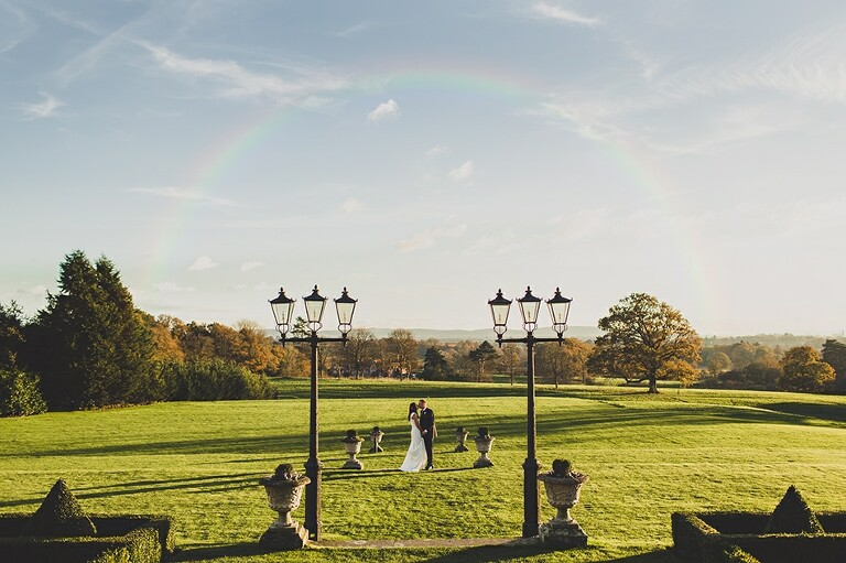South Lodge wedding photography in Sussex