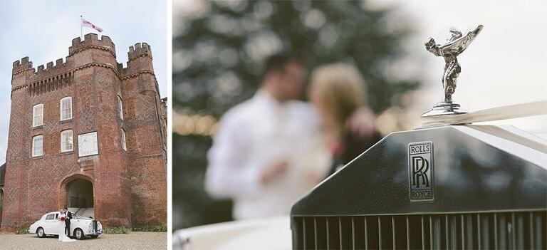 Wedding-Photographer-Farnham-Castle-Surrey-Rolls-Royce-2