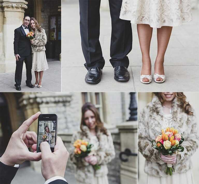 Wedding-Photography-Ealing-Town-Hall-Shoes-Bouquet