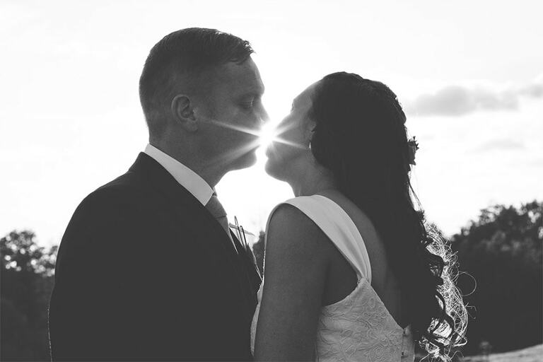 Wedding-Photography-South-Lodge-Sussex-Couple-Sun-Flare