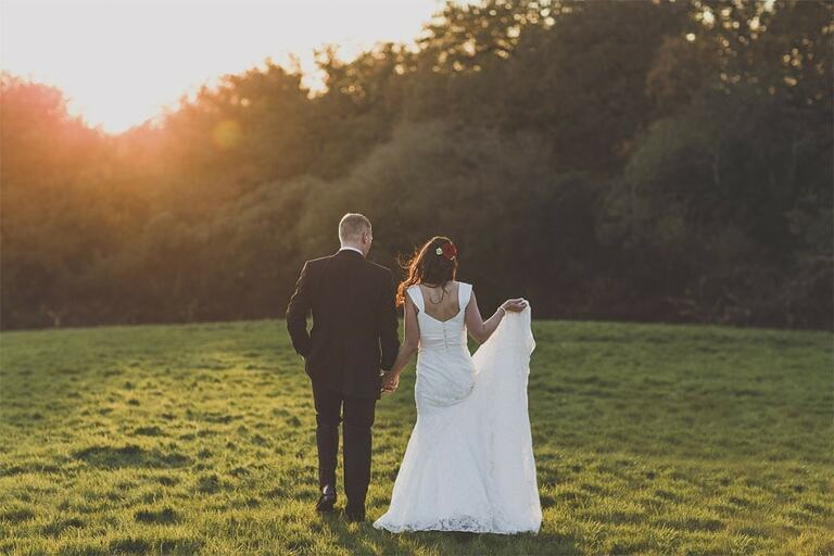 Wedding-Photography-South-Lodge-Sussex-Sunset