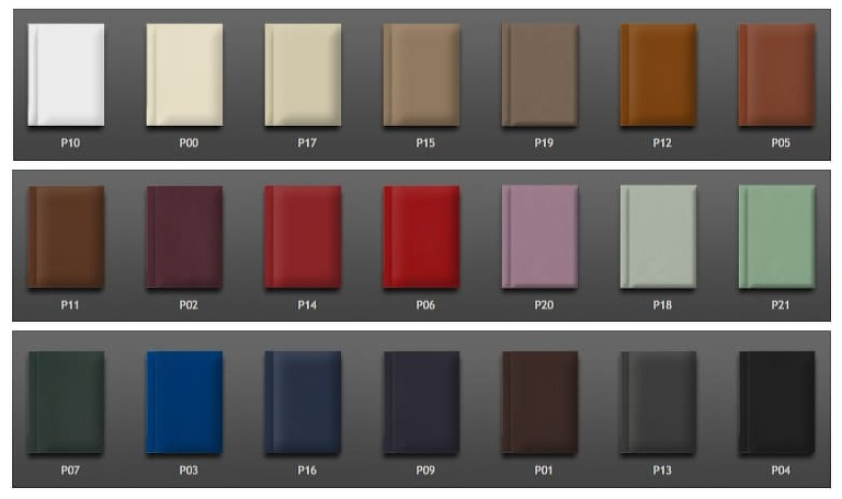 Graphistudio Leather Covers options.