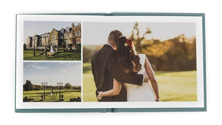 Folio Albums Jade Wedding albums Surrey