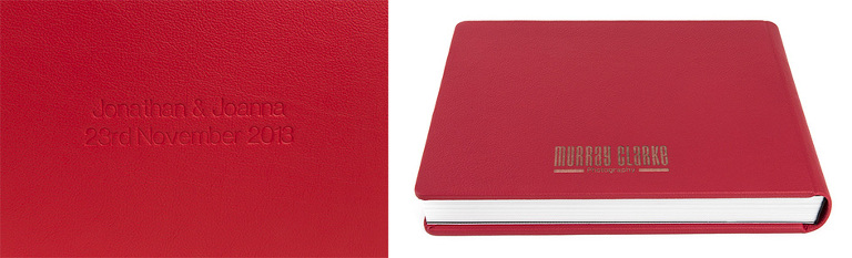 Graphistudio album in red