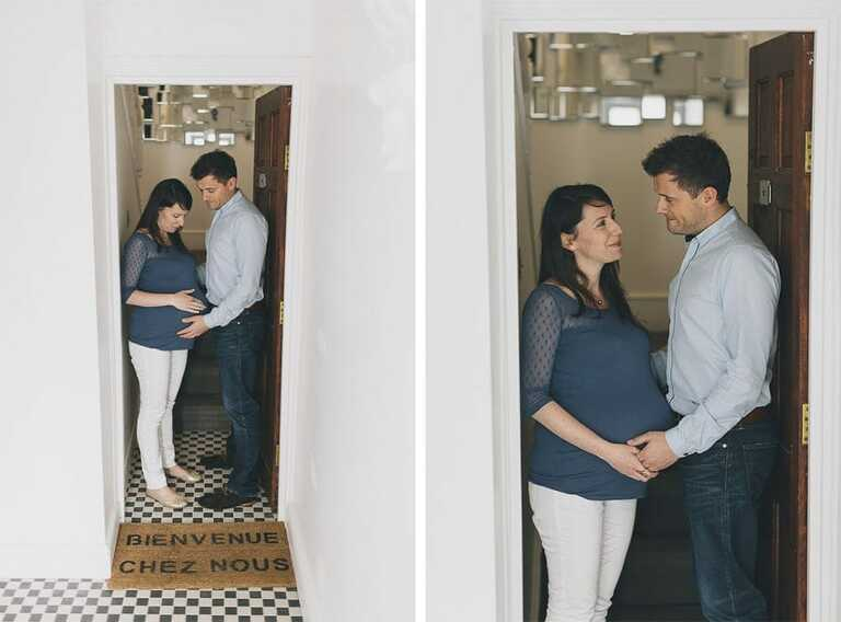 Pregnancy and Matenity Couple Shoot London