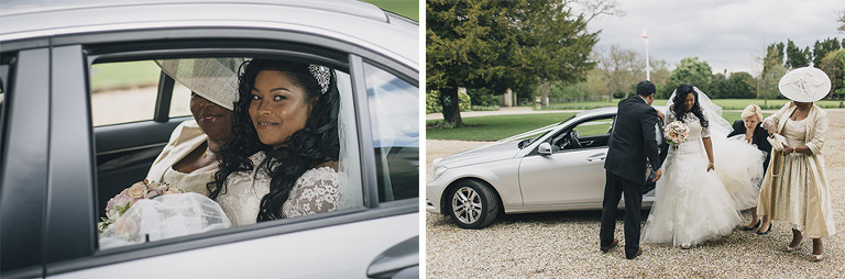 Wedding Photography Northbrook Park Car