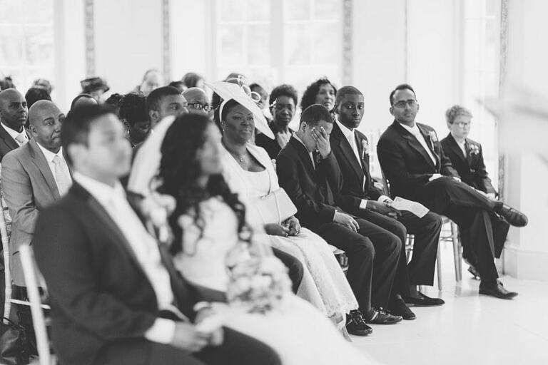 Wedding Photography Northbrook Park Ceremony