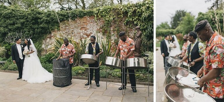 Wedding Photography Northbrook Park Steel Band