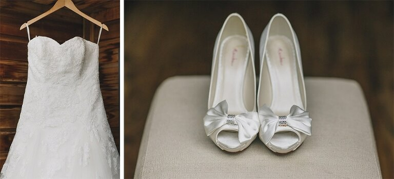 Wedding Photography Northbrook Park Shoes Dress