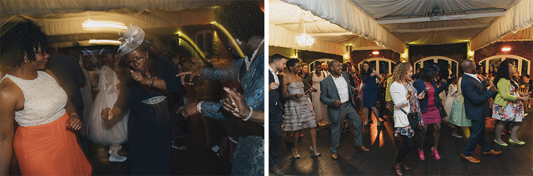 Wedding Photography Northbrook Park Dancefloor