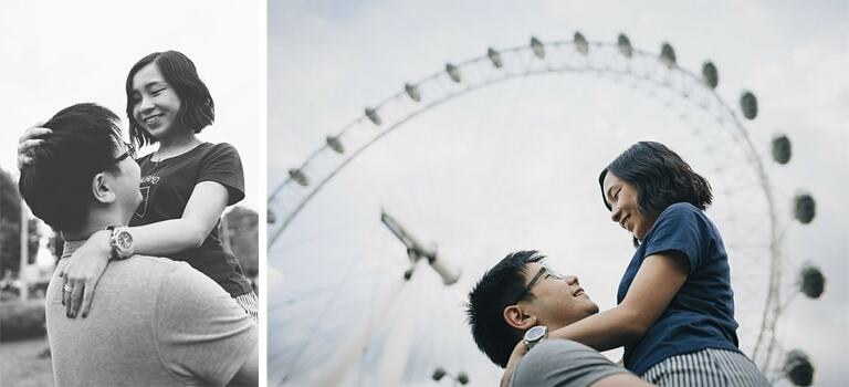 central London Couple Shoot Westminster Southbank