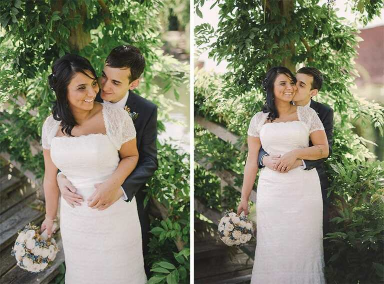 Wedding Photography with bride and groom