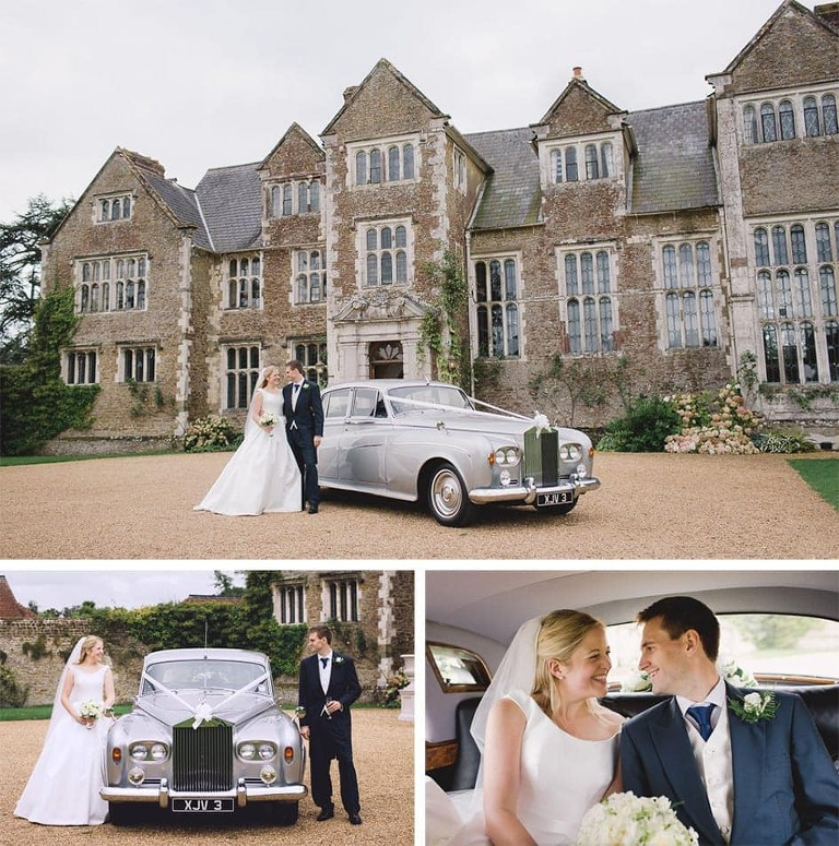 Wedding Photographer working at Loseley Park in Surrey