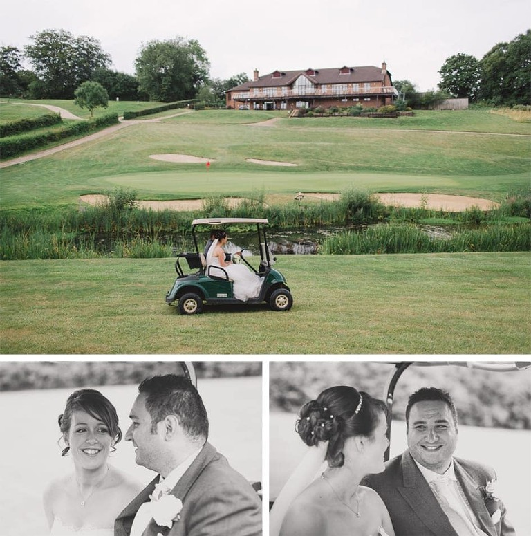 Surrey National Golf Club Wedding Photography