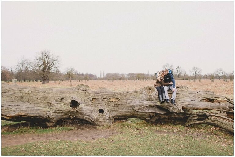 Surrey-Wedding-Photography-Engagement-Shoot-Couple-Bushy-Park_0000