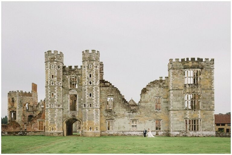 Cowdray Gardens Wedding Venue in Sussex