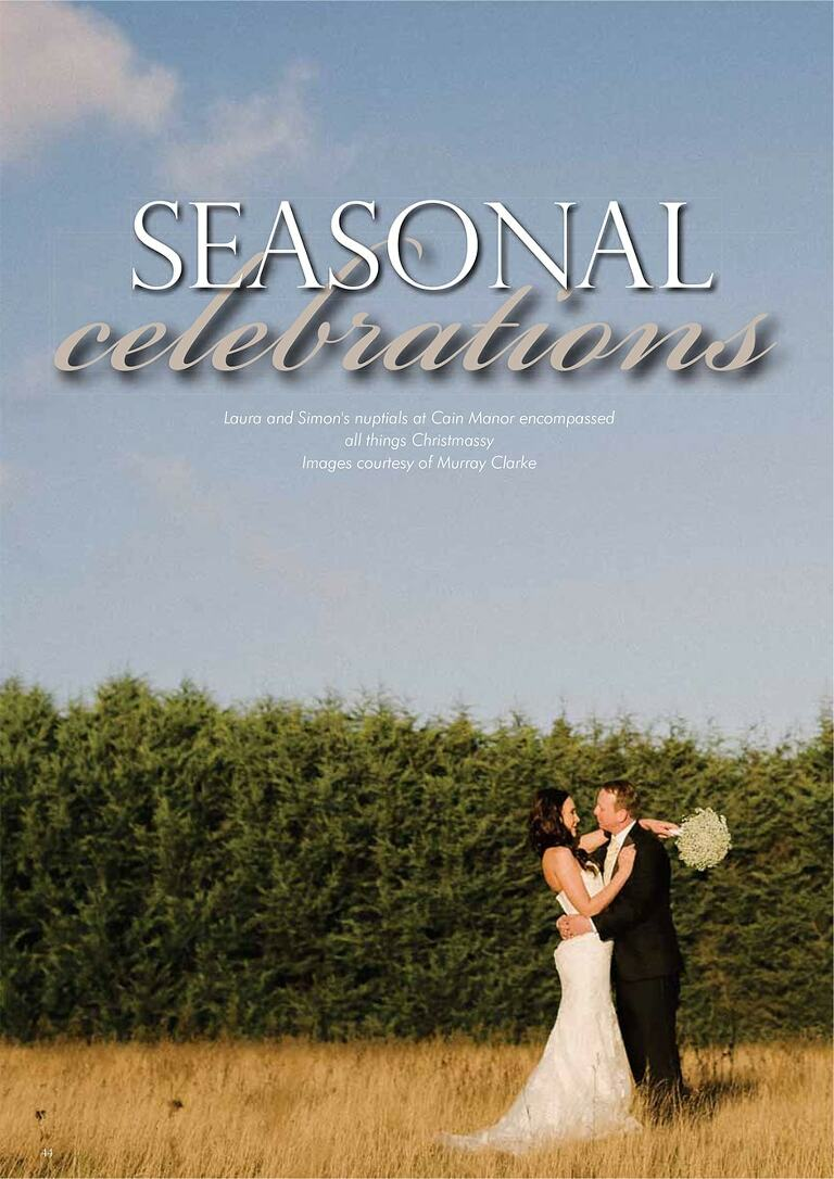 Cain Manor Featured In Your Surrey Wedding Magazine