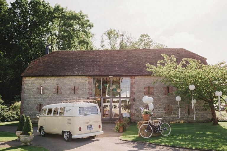 Bartholemew Barn Wedding Venue in Sussex