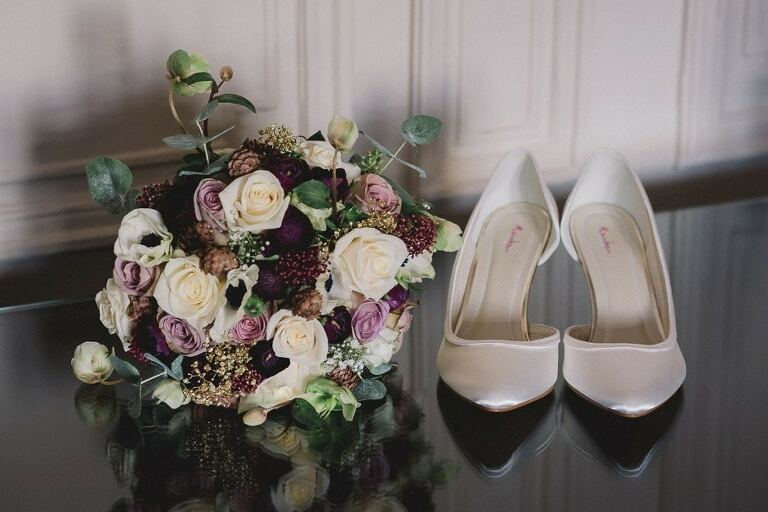 Wedding shoes for the Summer.