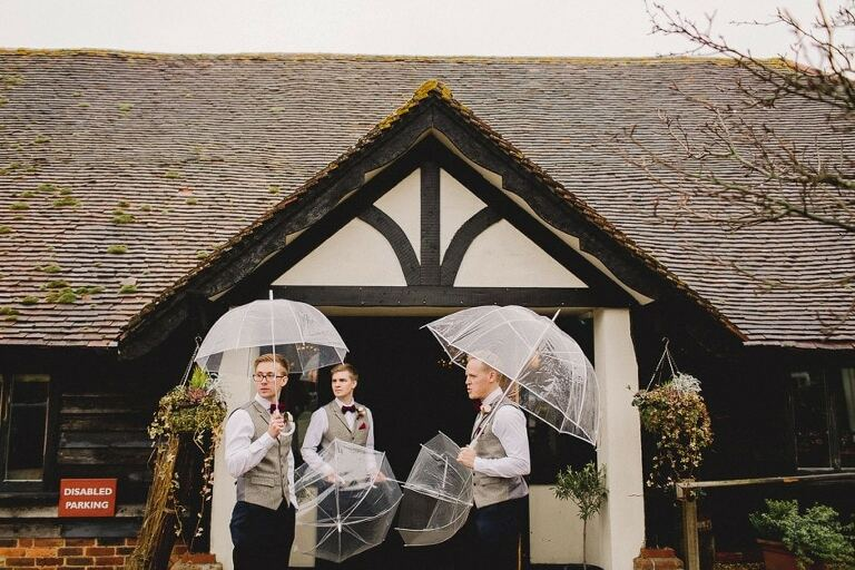 Wedding at the Red Barn in Surrey