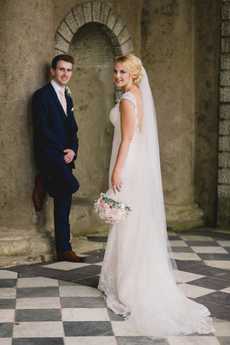Couple portraits at Wotton House in Surrey.