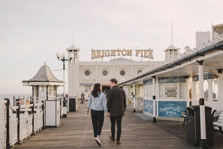 Brighton Engagement Couple Shoot