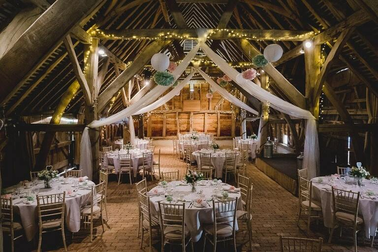 Gildings Barn Wedding Venue in Surrey - Murray Clarke