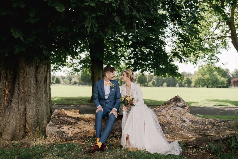 Clissold House wedding photographer working in London