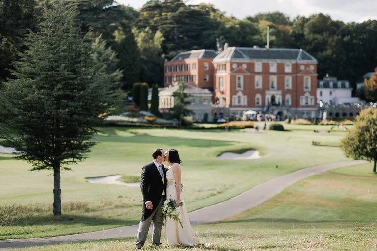 Nicola and David's Wedding at the RAC Club in Epsom Surrey