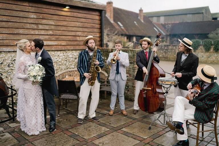 Pangdean Barn Wedding Photographer in Sussex