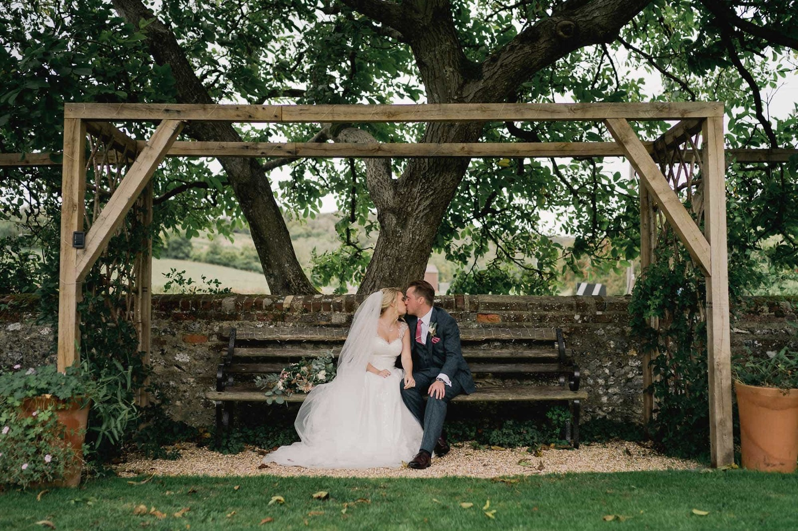 Upwaltham Barns Wedding Venue in Sussex