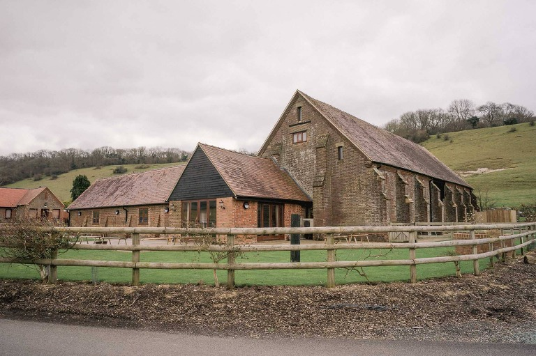Long Furlong Barn Wedding Venue in Sussex