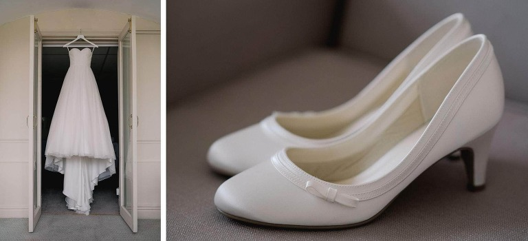 Buxted Park Wedding shoes
