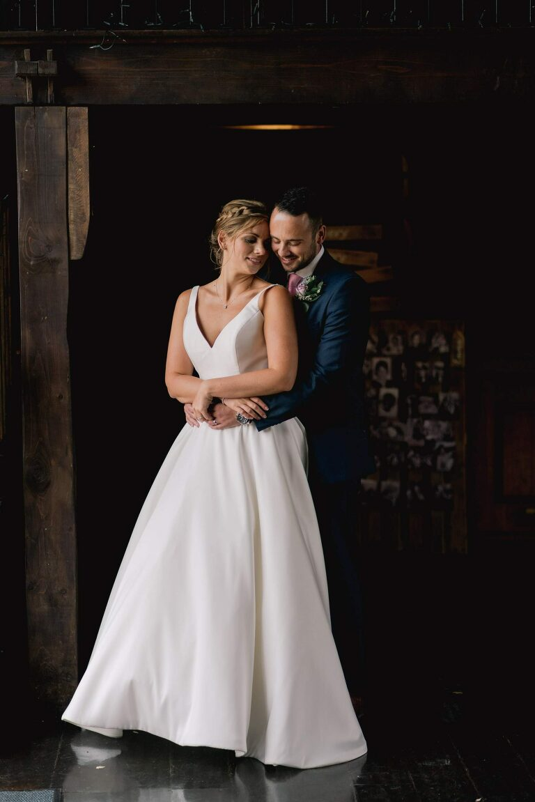 Bride and Groom Portraits at Blackstock Country Estate Wedding