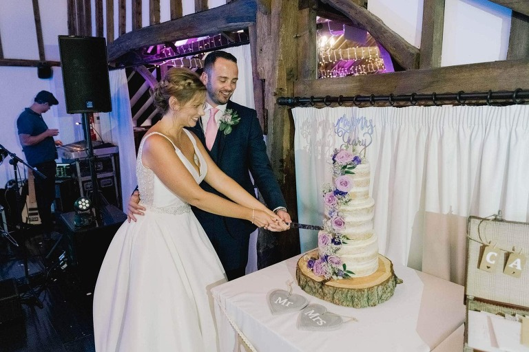Blackstock Country Estate in Sussex Wedding Cake