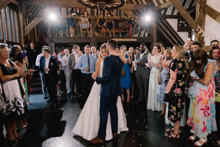 Blackstock Country Estate in Sussex Wedding First Dance