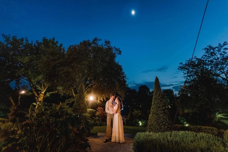 Laura and Dominic's Wedding at the Bingham Hotel in Surrey