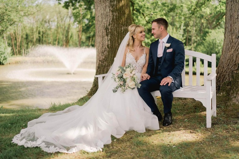 Jordana and Ben's Wedding at Lythe Hill Hotel in Surrey
