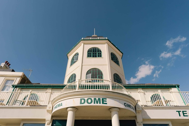 Karin and Rob's Wedding at Worthing Dome Cinema in Sussex