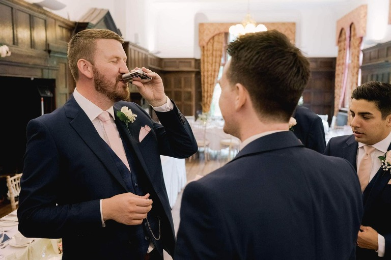 Photos of the groomsmen at Woldingham.